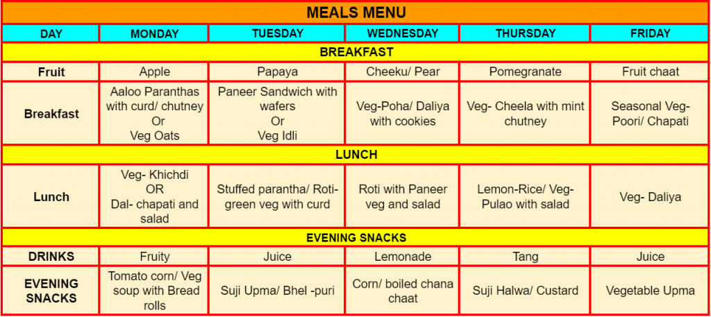 meal-menu